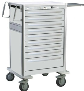 Lightweight Aluminum Unit Dose Cart