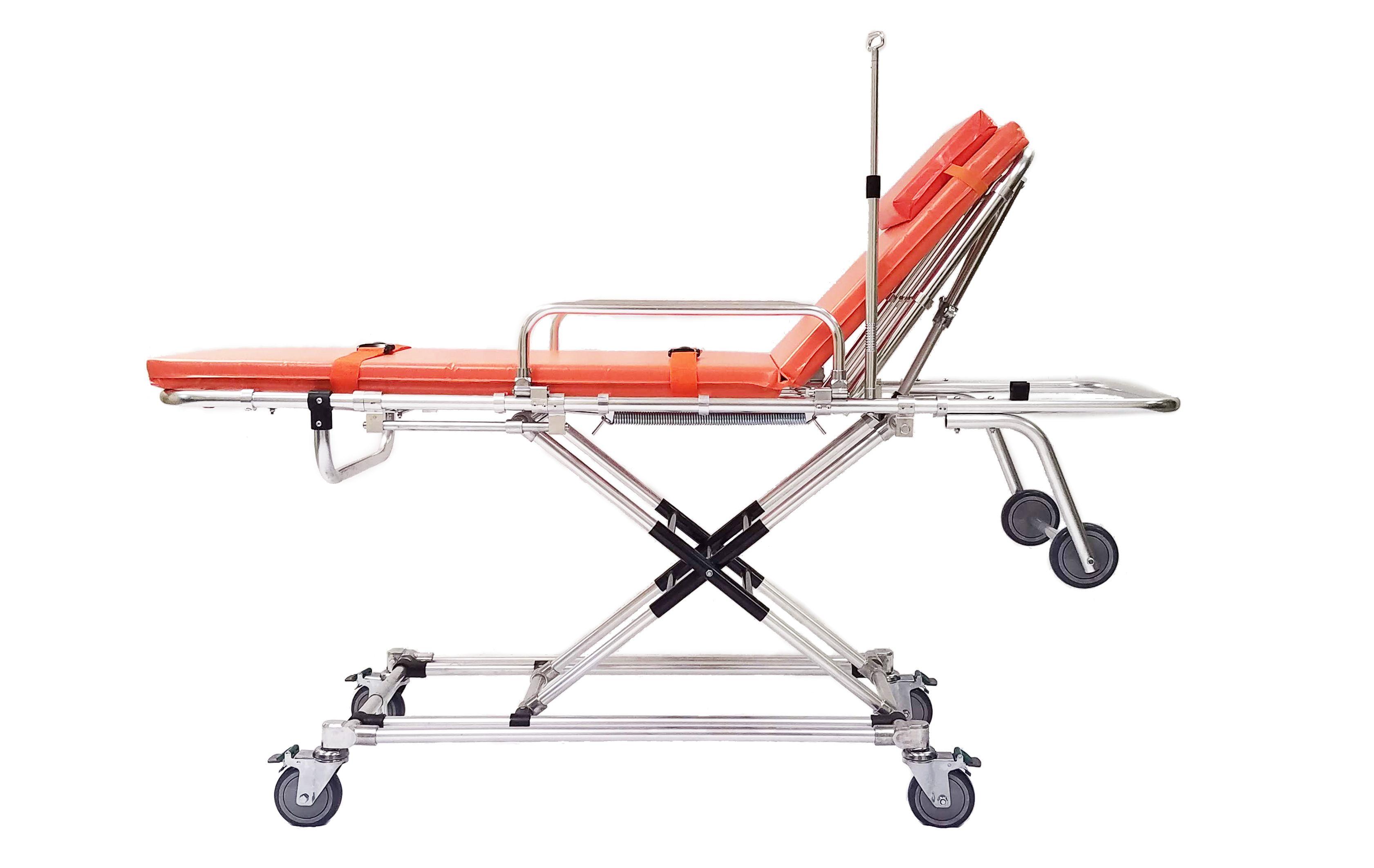 Lightweight X-Frame Ambulance Stretcher
