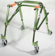 Lime Green Posterior Posture Walker