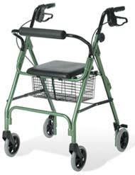 Lime Green Rollator