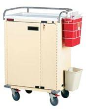 Treatment Cart Locking Doors Specialty Package
