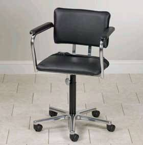 Low-Size Adjustable Whirlpool Chairs w/Casters