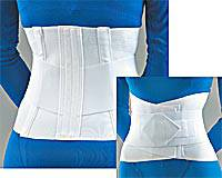 Lumbar Sacral Support Overlapping Belt