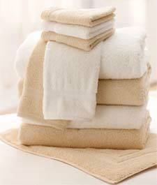 Luxury Beige Hand Towels 16in x 30in
