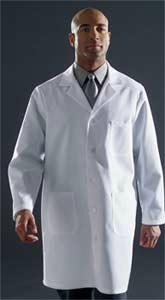 Unisex Staff Length Coat Pre-Shrunk