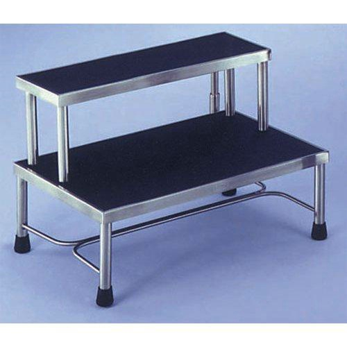 MRI Compatible Non-Magnetic Double Step Stool