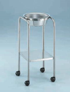 MRI-Safe Stainless Steel Basin Stand