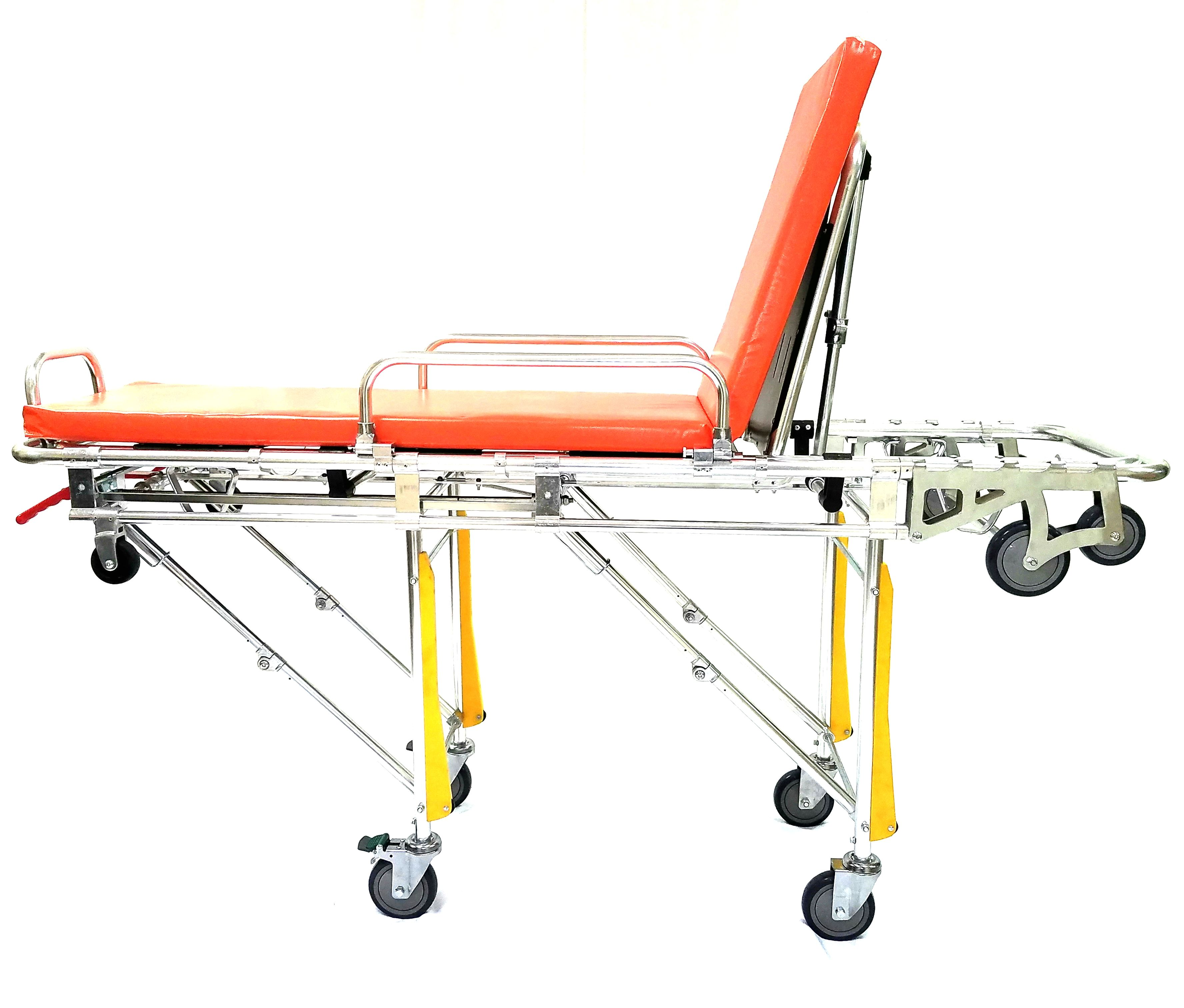 EMS Automatic Loading Double Top Stretcher