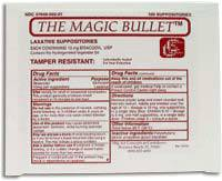 Magic Bullet Suppository
