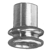 Male EPDM Tubing Adapters - Aluminum