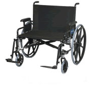 Manual Bariatric Wheelchair