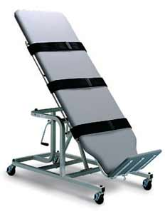 Manual Crank Rehabilitation and Therapy Tilt Table