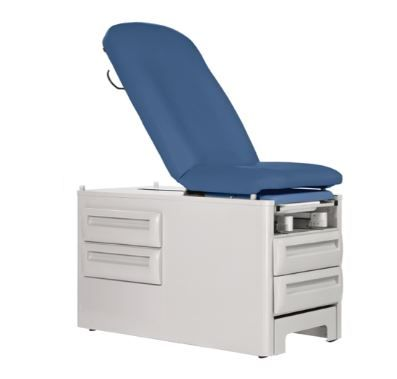 Manual Exam Table w/ Four Storage Drawers