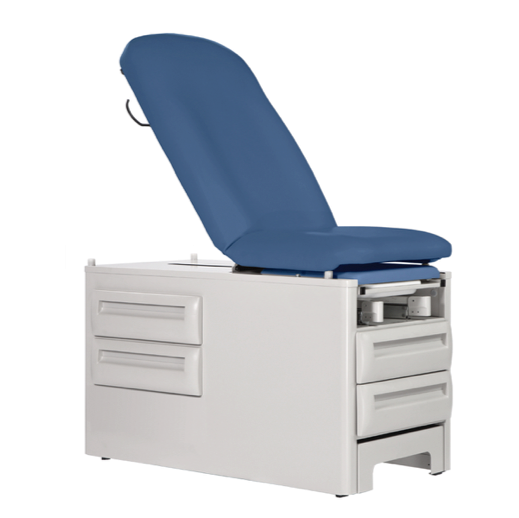 Manual Exam Table Four Storage Drawers