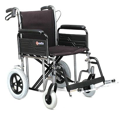 Manual Wheelchair w/ Detachable Full Arms
