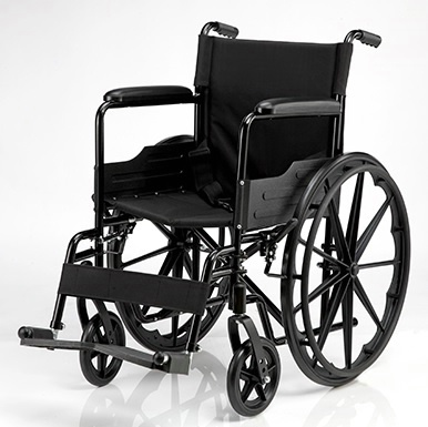 Manual Wheelchair w/ Swing-away Footrests