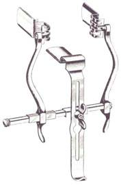 Masson-Judd Suprapubic Retractor wCenter Blade