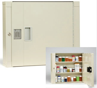High Security Electronic Medical Cabinet - Small