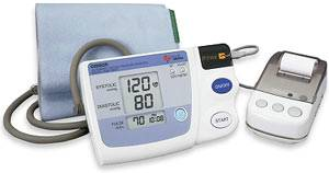 Measurement Print-Out Blood Pressure Monitor w/ Printer