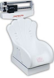 Mechanical Baby Scale Dual Reading Beam  Inclined Seat