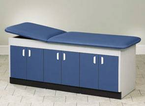 Treatment Table w/ 3 Large Storage Sections