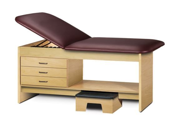 Medical Treatment Table with Stool 27in W