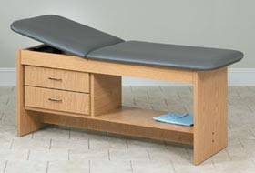 Treatment Table w/ Drawers 27in W