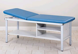 Treatment Table w/ Shelving 27in W