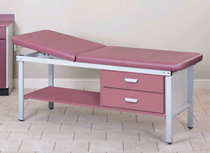Treatment Table Two Drawers 27in W
