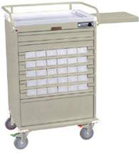 Medication Bin Cart