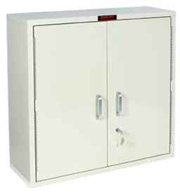 Large 2 Door Single Lock Narcotics Cabinet