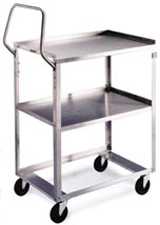 3 Shelf Egronomic Cart