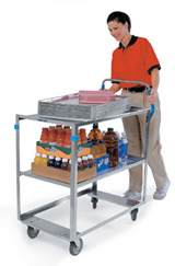 3 Shelf Ergonomic Cart
