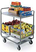 2 Shelf Kitchen Utility Cart