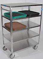 Medium Duty 5 Shelf Cart