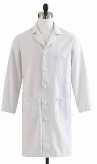Mens Premium Full Length Lab Coat