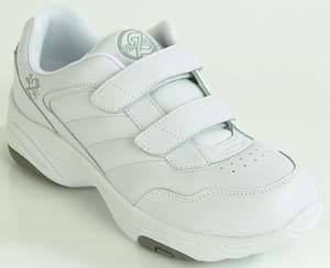 Mens White Diabetic Sport Shoes