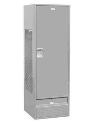 Metal Locker with Solid Door 6ft