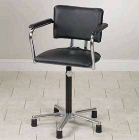 Mid-Size Adjustable Whirlpool Chair wo Casters