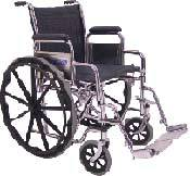 Standard Wheelchair w/ Detachable Arms