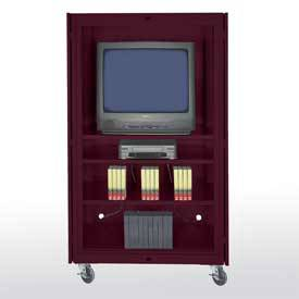 Mobile Audio Video Cabinet