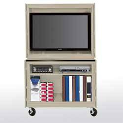 Mobile Plasma/LCD TV Stand (46in W x 24in D x 72in H)