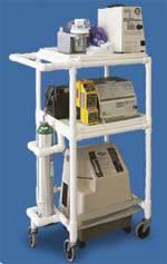 PVC Frame Mobile Respiratory Station
