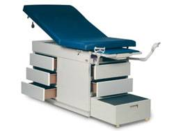 Gas Spring Back Exam Table