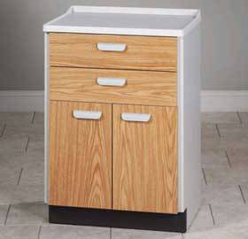 Molded Top Treatment Cabinet w/ 2 Doors & 2 Drawers
