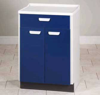 Molded Top Treatment Cabinet w/ 2 Doors & 1 Drawer