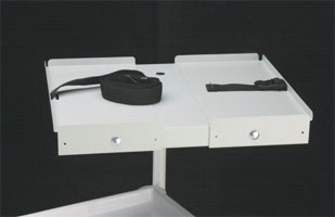 Monitor Shelf for Steel Cart