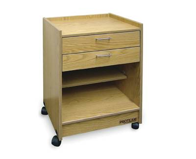 Mobile Storage Cart w/ Two Drawers