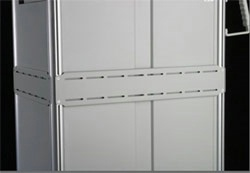 Mounting Panel for Aluminum Cart
