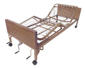 Multi-Height Manual Medical Bed